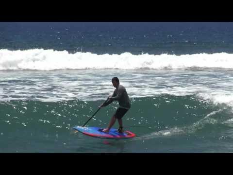 Riding the KAI model GO FOIL on Maui