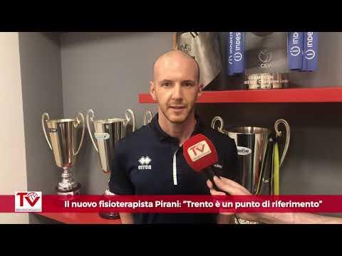 """Il nuovo fisioterapista Pirani: """"Trentino Volley è un punto di riferimento"""""""