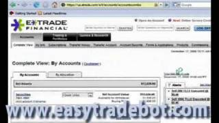 Automated Stock Trading System - Made 6000$ in a few days