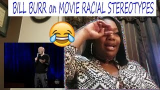 😂 Mom reacts to BILL BURR on MOVIE RACIAL STEREOTYPES | Reaction