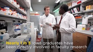 Undergraduates contribute to scientific discovery at the University of Iowa thumbnail
