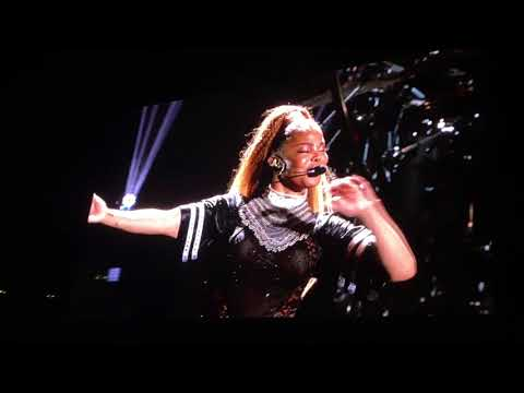Janet Jackson Austin Tx July 11 State Of The World Tour 2