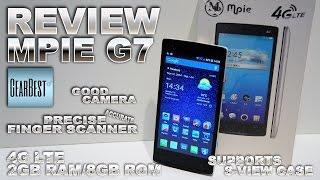 MPIE G7, 4G LTE [REVIEW IN-DEPTH] 2GB RAM/8GB ROM, 5 Inch qHD, Fingerprint Unlock, MTK6582 1.3GHz