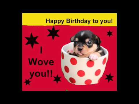Have A Doggone Good Birthday Happy Birthday Barking Song For Dog Lovers Youtube