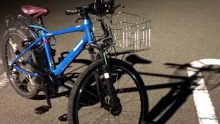 パナソニック電動自転車ハリヤ BE-ELH42 1215 20170420撮影.