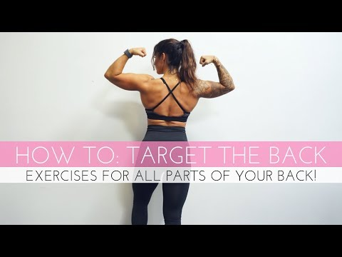 HOW TO TARGET THE BACK 6 EXERCISES YOU MUST DO