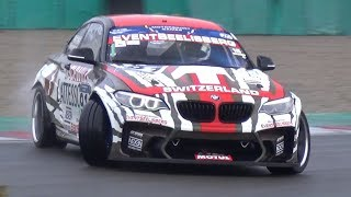 Yves Meyer testing for FIA Intercontinental Drifting Cup on HGK F22 ft. Federico Sceriffo!