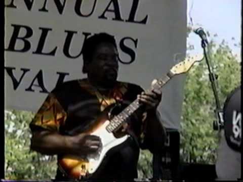 Big Jack Johnson 7-31-93 Pocono Blues Festival