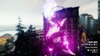 infamous second son white rabbit mask + playing with photo mode
