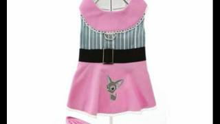 Little Lily Harness Dress & Lead For Yorkies
