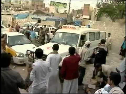 Full video of the Sanaa  massacre on the 18 09 2011 PART 2
