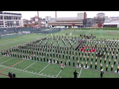 America The Beautiful Ohio State Marching Band 11 26 2016 OSU vs MI Incl MI Band