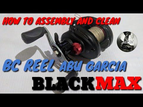 Cara membongkar membersihkan | Disassemble and clean Reel BC Abu Garcia  BlackMax | R08
