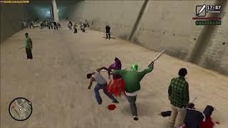 GTA San Andreas - Grove vs Ballas