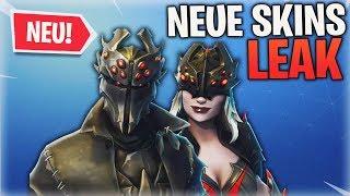 'NEUER' SCHWARZER RITTER 😱 LEAK: Neue Skins Fortnite Saison 6 Fuites (Deutsch) Detu Detu