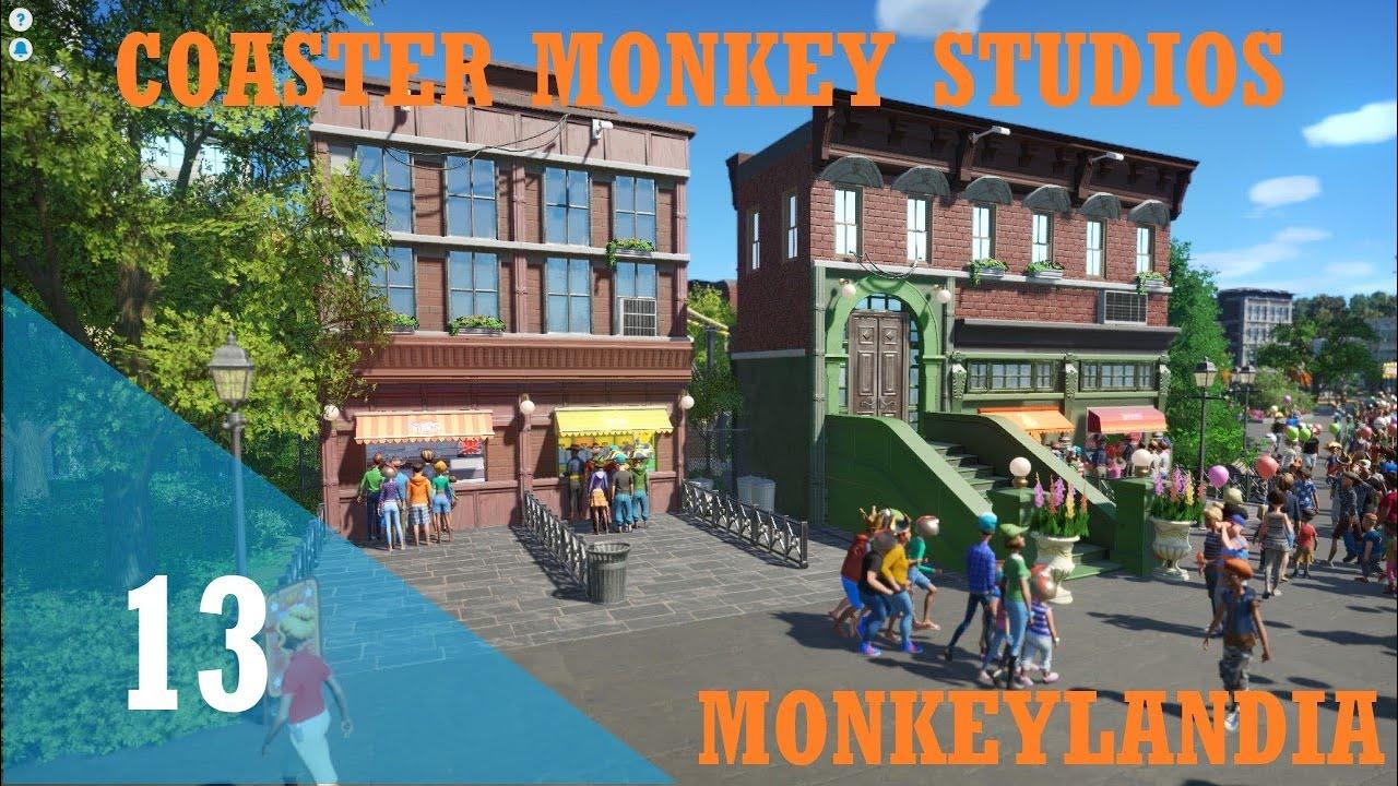 Download Lets Play Planet Coaster | Monkeylandia | Episode 13 | Crazy Buildings | Part 2