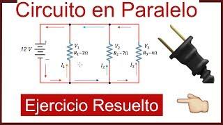 EJERCICIO DE CIRCUITOS EN PARALELO - Resistencias en Paralelo