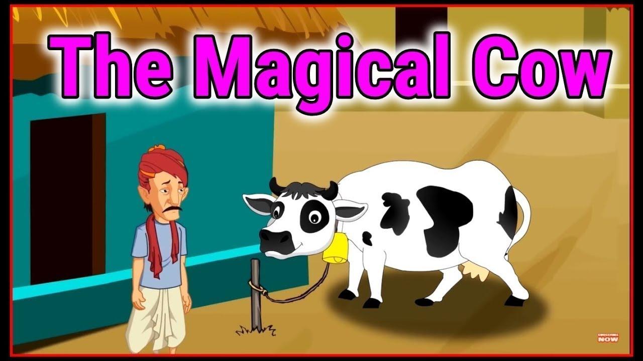The Magical Cow | English Cartoon | Moral Stories For Kids | Maha Cartoon TV English