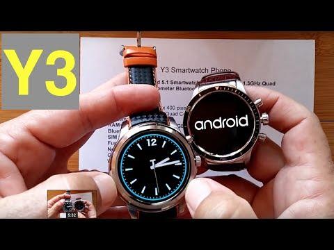 LEMFO Y3 Smartwatch: Unboxing & 1st Look