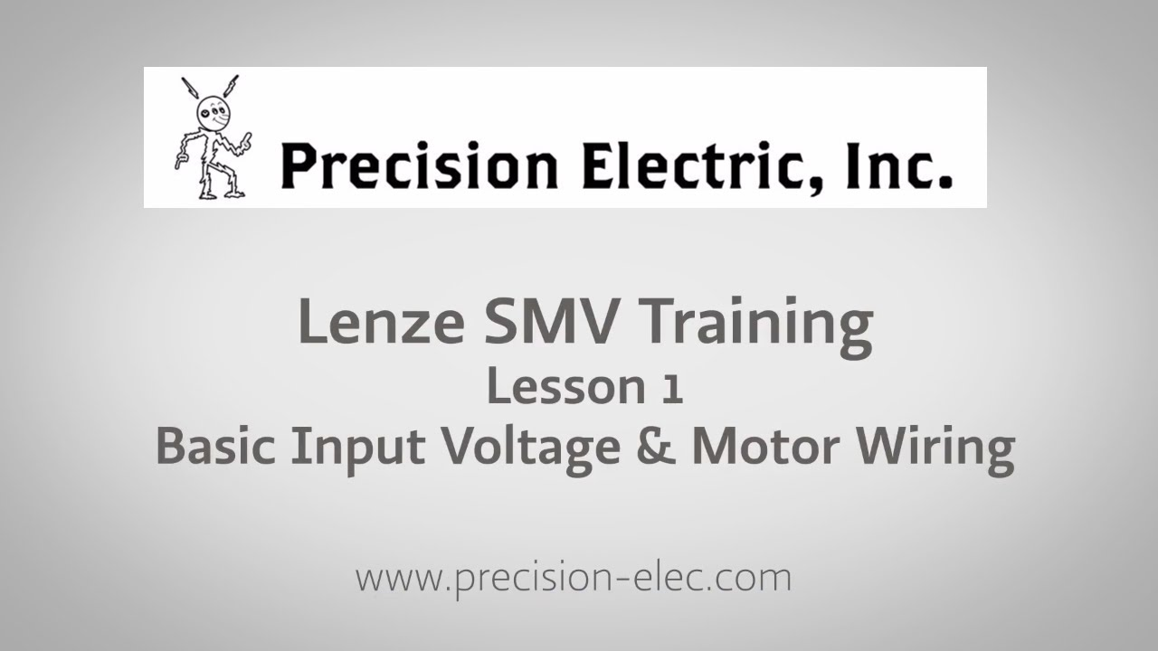 Lenze Wiring Diagrams Frequency Drive Diagram For Smv Training Lesson 1 Basic Input Voltage Motor Snatch Block