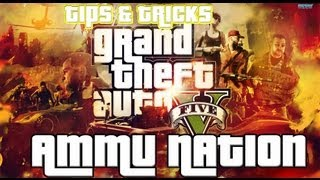 gta 5 how to rob ammu nation grand theft auto 5 tips tricks