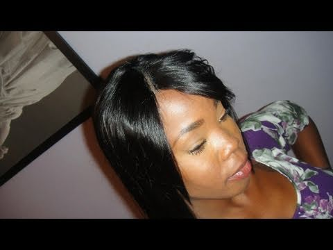 Chocolate hair yaky weave 18 review invisible part youtube pmusecretfo Image collections