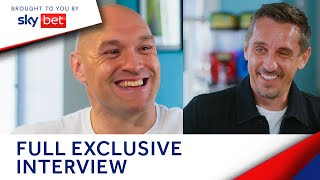 Tyson Fury shares all on Anthony Joshua, Deontay Wilder & more to Gary Neville | The Overlap