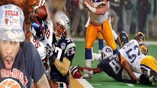 IMPOSSIBLE 100 YARD INTERCEPTION! TOP 10 SUPER BOWL PLAYS OF ALL TIME REACTION