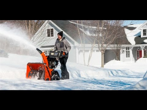Best Gas Snow Blowers 2017