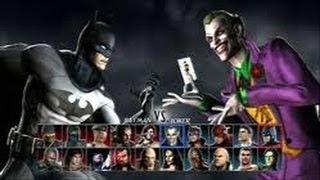 MK vs DC | 10 Batman vs Joker (Batman Metal Theme)