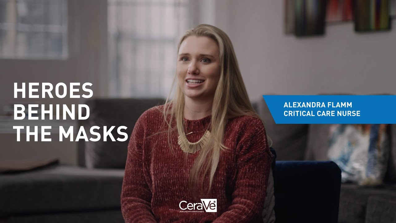 Alexandra | Heroes Behind the Masks presented by CeraVe