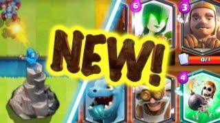 קלפים חדשים בקלאש רויאל?!? רעיונות לקלפים אדירים!!! חובה לראות!!