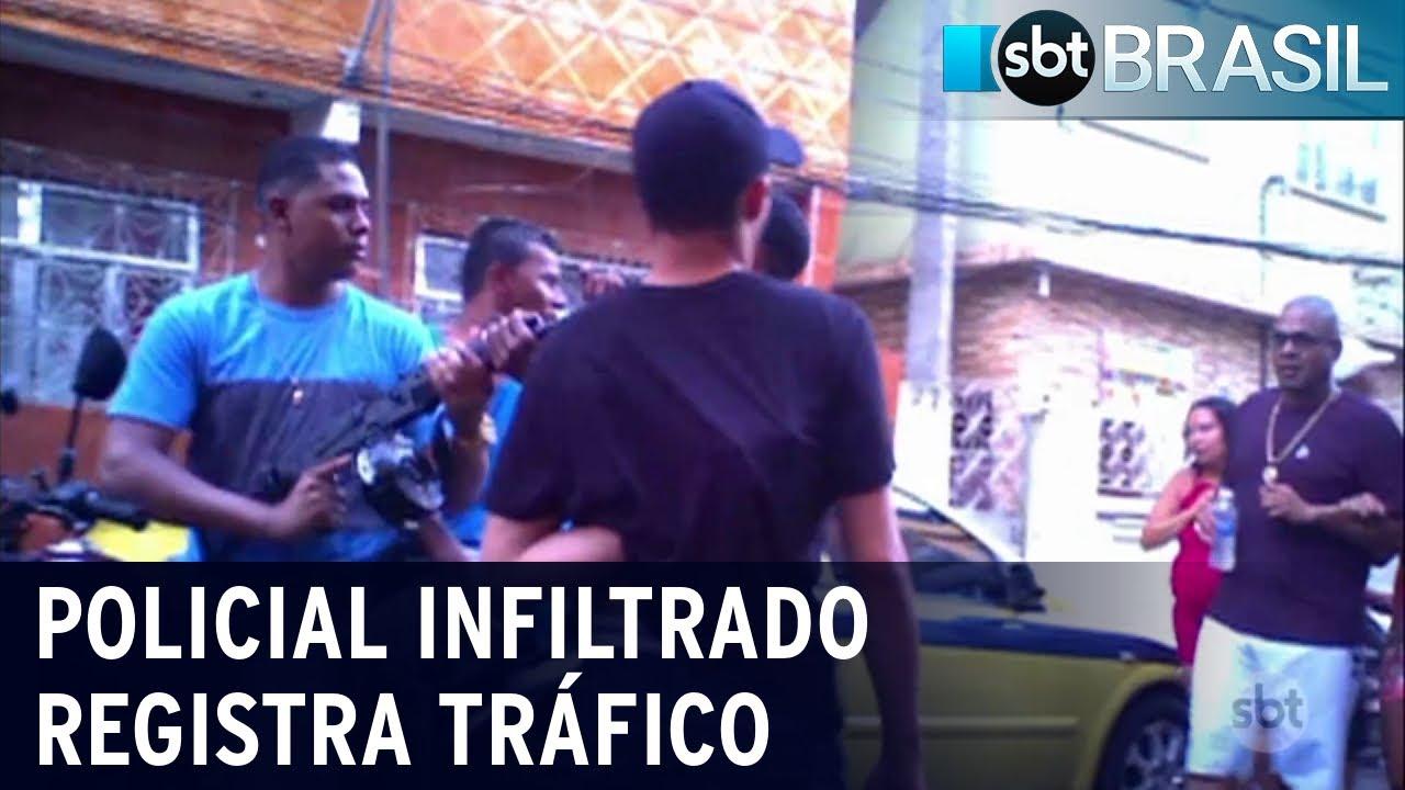 Download Policial infiltrado mostra rotina de um dos traficantes mais perigosos do RJ   SBT Brasil (14/11/20)