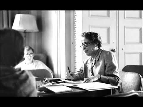 Hannah Arendt – Power and Violence (1968 Lecture)