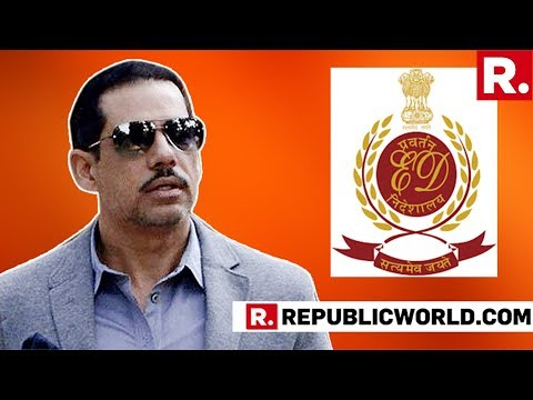 Robert Vadra Cornered By Agencies, Republic TV Accesses The Questionnaire