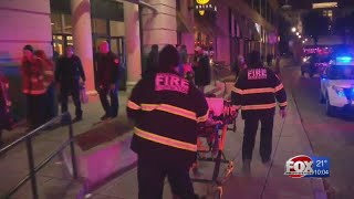 Shoppers forced into cold after mall shooting, evacuation