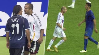When Players Lose Their Cool FIFA World Cup Germany 2006