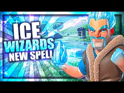 Clash Royale Ice Wizard Story | The Ice Wizard's New Spell - The Snowball Origin Story 2018