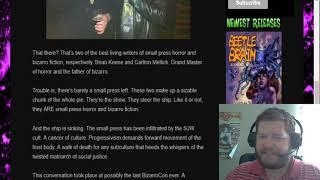Are SJWS Infiltrating Horror and Bizarro Fiction?