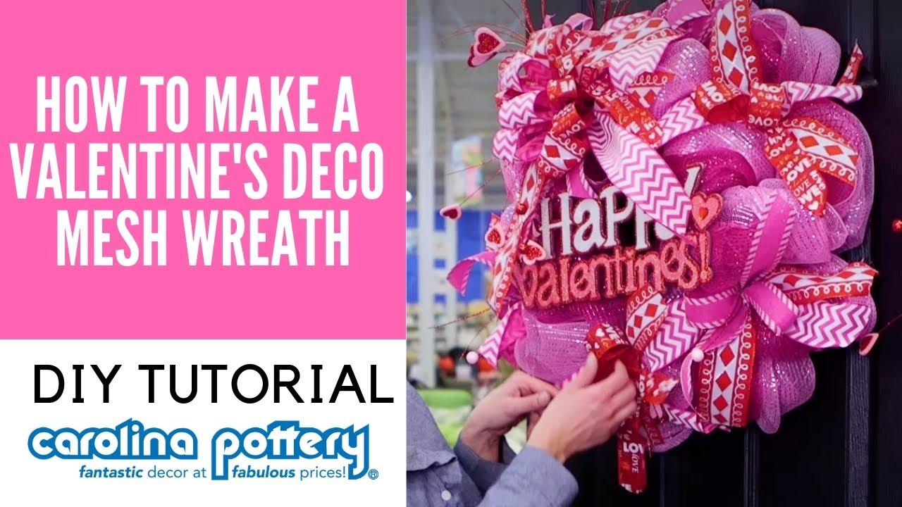 Valentinesdaywreath Valentinesdaydecor Carolina