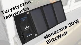 Turystyczna ładowarka solarna Blitzwolf 20W - recenzja (1)