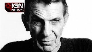 Star Trek Great Leonard Nimoy Dies at Age 83 - IGN News