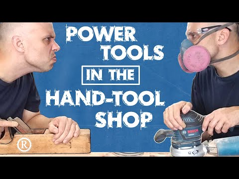 Three Power Tools For Your Hand-tool Shop.