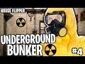 UNDERGROUND BUNKER!! - HOUSE FLIPPER #4