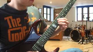 Megadeth: Train Of Consequences (Solo Cover)