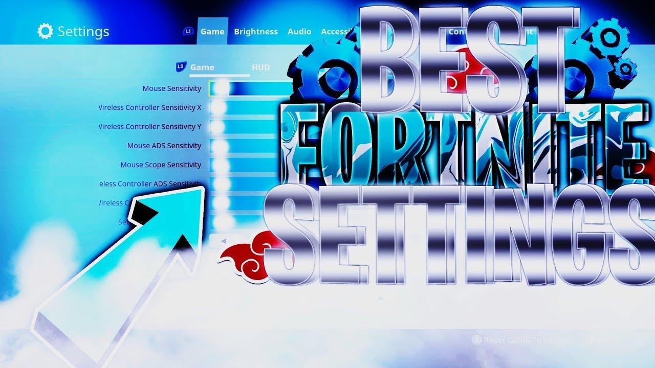 best sensitivity settings for ps4 xbox one fortnite battle royale - notvivid fortnite settings