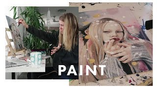 A few weeks of painting | VLOG