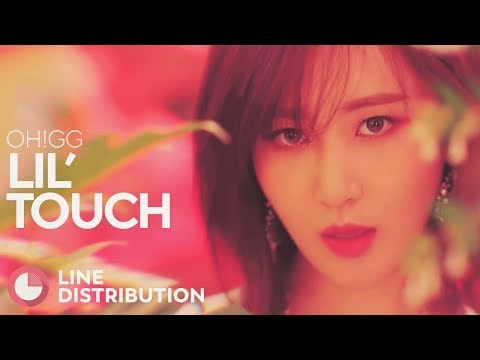 GIRLS' GENERATION-OH!GG - Lil' Touch (Line Distribution)
