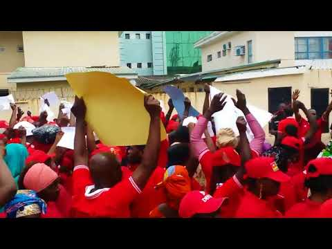 Togolese Protesters in Lagos Call for Eyadéma Family to Step Down thumbnail