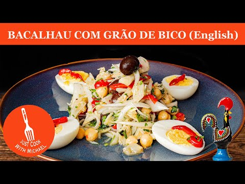 bacalhau  salt cod  with chickpeas